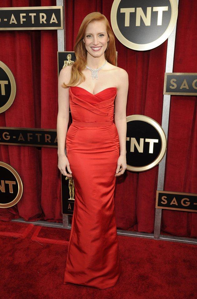 SAG Jessica-Chastain 2013