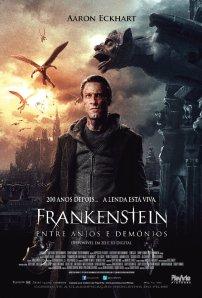 Frankenstein - Entre Anjos e Demônios - poster nacional