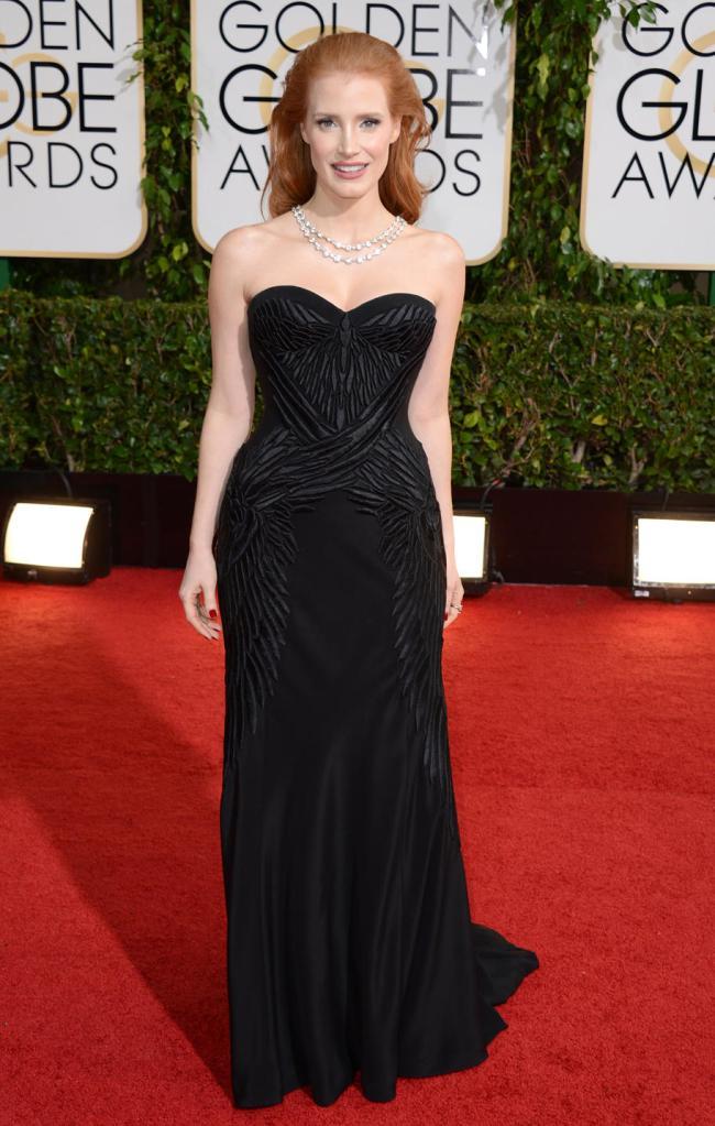 GG 2014 Jessica Chastain