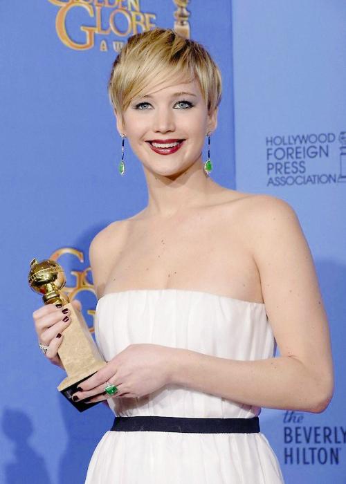Jennifer Lawrence - Globo de Ouro