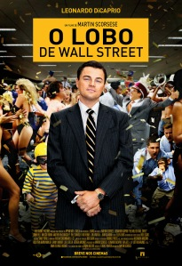 O Lobo de Wall Street - poster nacional