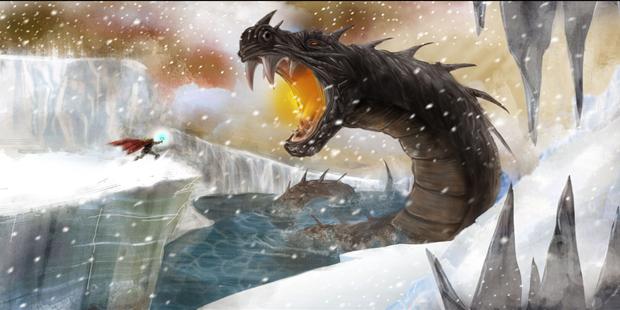 Thor-vilões-Serpente-de-Midgard