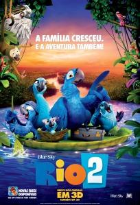 Rio 2 - poster nacional
