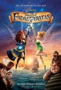 Tinker Bell: Fadas e Piratas - poster nacional