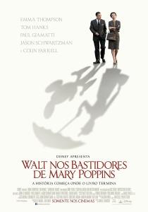 Walt nos Bastidores de Mary Poppins - poster nacional