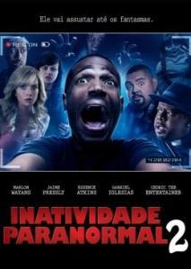 Inatividade Paranormal 2 - poster nacional