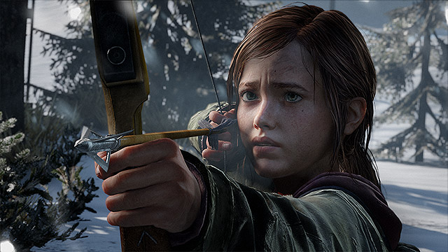 Ellie_Bow_Winter The Last of Us