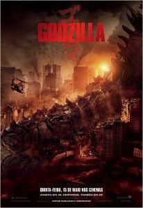 Godzilla - poster nacional