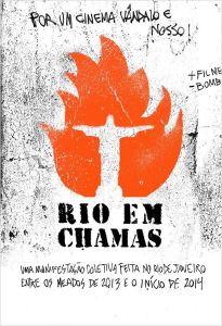 Rio em Chamas - poster