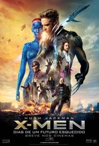 X-Men: Dias de Um Futuro Esquecido - poster nacional