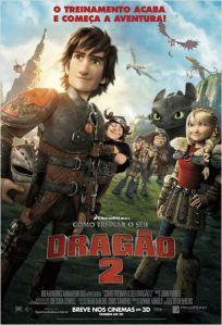 Como Treinar o Seu Dragão 2 - poster nacional