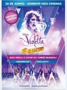 Violetta: O Show - poster nacional