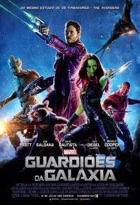 Guardiões da Galáxia - poster nacional