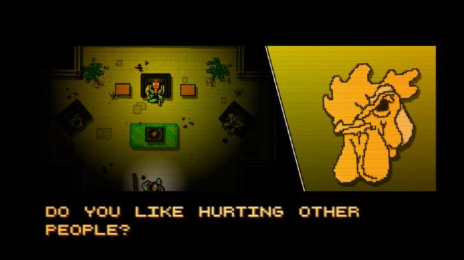 """""""Você gosta de machucar outras pessoas?"""""""