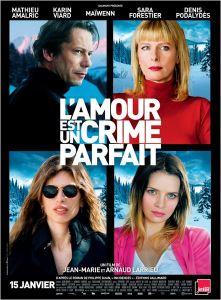 O Amor é Um Crime Perfeito - poster nacional