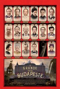 O Grande Hotel Budapeste - poster nacional