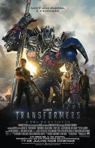 Transformers: A Era da Extinção - poster nacional