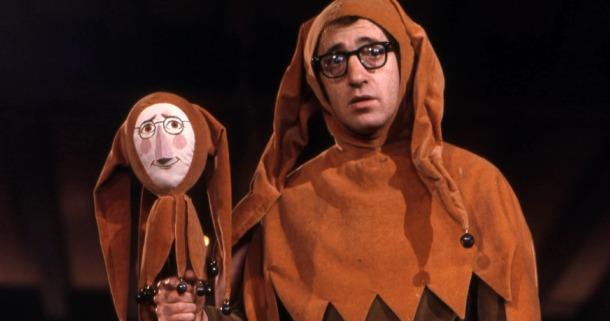 """Woody Allen em um de seus primeiros sucessos """"Tudo o Que Você Sempre Quis Saber Sobre Sexo E Tinha Medo de Perguntar"""" (1972)"""