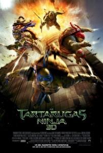As Tartarugas Ninja - poster nacional