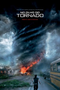 No Olho do Tornado - poster nacional