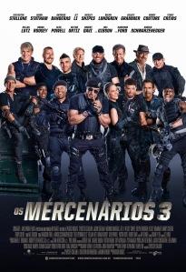 Os Mercenários 3 - poster nacional