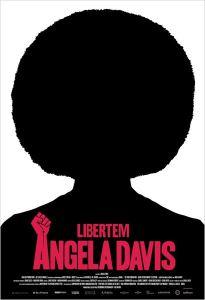 Libertem Angela Davis - poster nacional