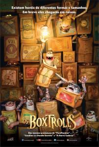 Os Boxtrolls - poster nacional