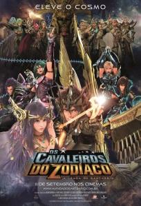 Os Cavaleiros do Zodíaco: A Lenda do Santuário - poster nacional