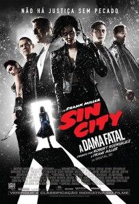Sin City: A Dama Fatal - poster nacional