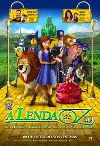 A Lenda de Oz - poster nacional