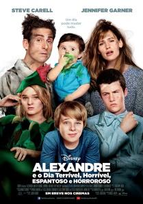 Alexandre e o Dia Terrível, Horrível, Espantoso e Horroroso - poster nacional