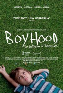 Boyhood: Da Infância à Juventude - poster nacional