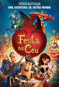 Festa no Céu - poster nacional