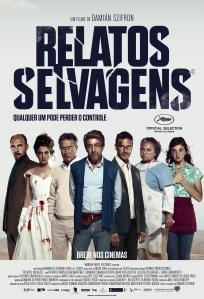 Relatos Selvagens - poster nacional