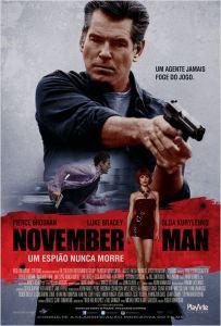 November Man: Um Espião Nunca Morre - poster nacional
