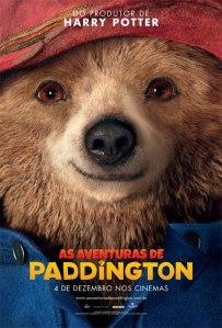 As Aventuras de Paddington - poster nacional