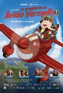 As Aventuras do Avião Vermelho - poster