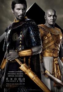 Êxodo: Deuses e Reis - poster nacional