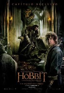 O Hobbit: A Batalha dos Cinco Exércitos - poster nacional
