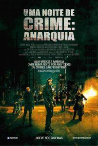 Uma Noite de Crime: Anarquia - poster nacional