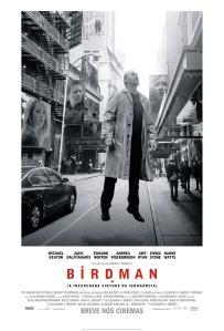 Birdman ou (A Inesperada Virtude da Ignorância) - poster nacional