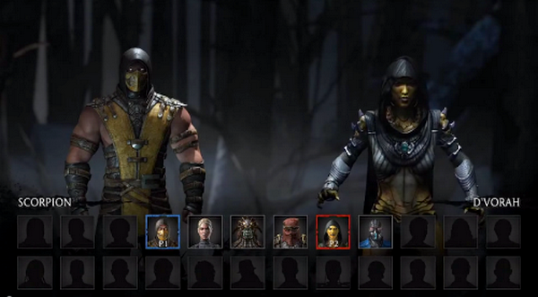 mortalkombatx personagens