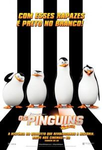 Os Pinguins de Madagascar - poster nacional