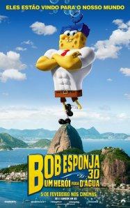 Bob Esponja: Um Herói Fora d'Água - poster nacional