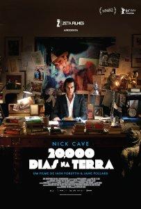 Nick Cave: 20.000 Dias na Terra - poster nacional