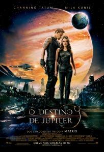 O Destino de Júpiter - poster nacional