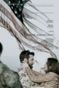 Sniper Americano - poster nacional