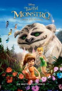 Tinker Bell e o Monstro da Terra do Nunca - poster nacional