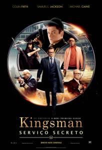 Kingsman: Serviço Secreto - poster nacional