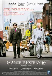 O Amor é Estranho - poster nacional